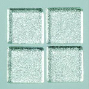 Billigtpyssel.se | MosaixPro-glasmosaik Metallic 20 x 20 x - silver 200 g ~ 41 st.