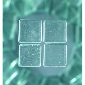 Billigtpyssel.se   MosaixSoft - glasmosaik 20 x 20 mm - transparent 200 g ~ 41 st.