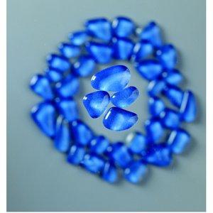 Billigtpyssel.se   MosaixSoft - glasmosaik 8 - 25 mm - ljusblå 200 g ~ 140 st.