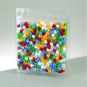 Billigtpyssel.se | Nabbi® Maxi pärlor kit - 250 st. med pegboard