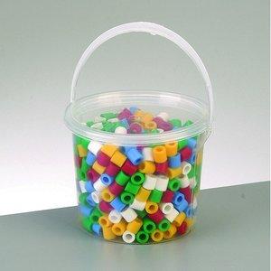 Billigtpyssel.se | Nabbi® Maxi pärlor - mix grundfärger 550 st i hink