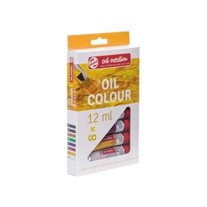 Billigtpyssel.se | Oljefärger Art Creation Färgset 12 ml - 8 färger