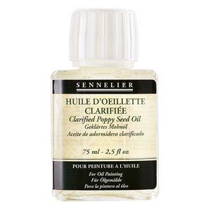 Billigtpyssel.se | Oljemedium Sennelier - Clarified Poppy Seed Oil