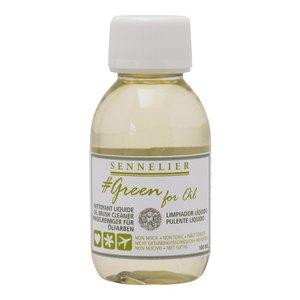 Billigtpyssel.se | Oljemedium Sennelier Greenforoil - Brush Cleaner