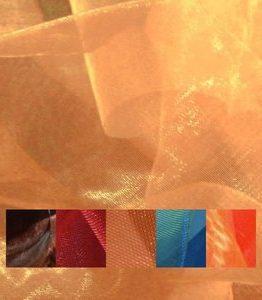 Billigtpyssel.se | Organzatyg tvåfärgat - 150 cm