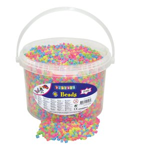 Billigtpyssel.se | Pärlor 20000 st pastell
