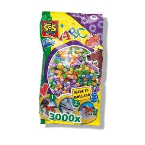 Billigtpyssel.se | Pärlor 3000 st pastell
