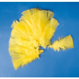 Billigtpyssel.se | Påskfjädrar 48 st gula