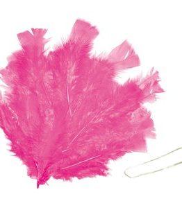 Billigtpyssel.se | Påskfjädrar 48 st rosa