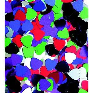 Billigtpyssel.se | Paljetter 8 mm - blandade färger 20 g hjärtan