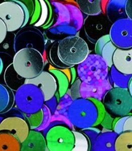 Billigtpyssel.se | Paljetter runda platta ø 6 mm