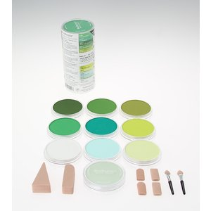 Billigtpyssel.se | PanPastel 10 Color Sets - Greens