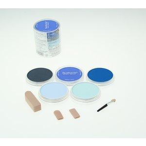 Billigtpyssel.se | PanPastel - Blues 5 Color Sets