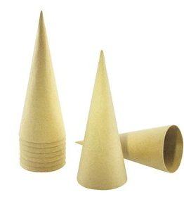 Billigtpyssel.se | Pappkoner 20-pack 20 cm