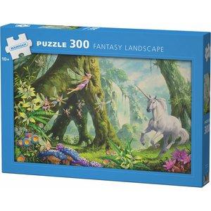 Billigtpyssel.se | Pappussel Fantasy Landscape