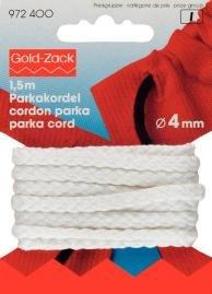 Billigtpyssel.se | Parkasband 4 mm vit - Finns i fler färger