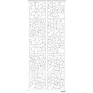 Billigtpyssel.se | Peel offs - Blommor/rutor