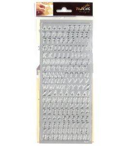 Billigtpyssel.se | Peel offs - Silver