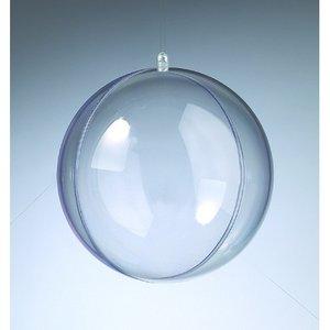 Billigtpyssel.se | Plastboll - kristallklar separerbar (PS)