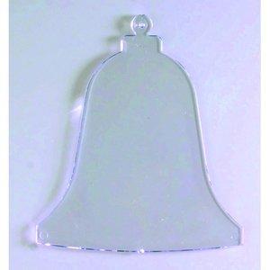 Billigtpyssel.se | Plasthänge 90 mm - kristallklar klocka