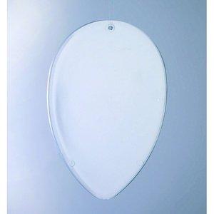 Billigtpyssel.se   Plasthänge/Separator 90 mm - kristallklar Ägg