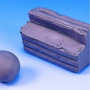 Billigtpyssel.se | Plasticene modellera - grå 500 g