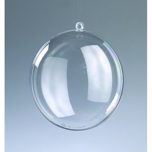 Billigtpyssel.se | Plastmedaljong 90 mm - kristallklar separerbar (PS)