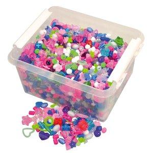 Billigtpyssel.se | Plastpärlor i back