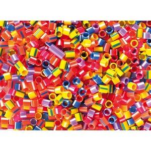 Billigtpyssel.se   Plastpärlor randiga rör