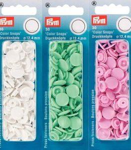 Billigtpyssel.se | Plasttryckknappar - Color Snaps - ø 12