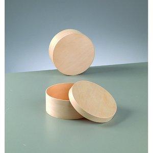 Billigtpyssel.se | Plywoodask ø 115 mm H 50 mm - obehandlat rund