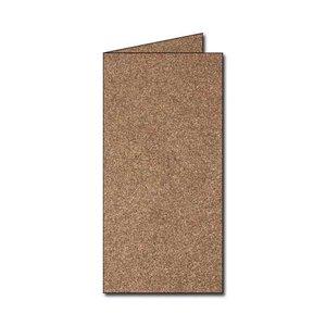 Billigtpyssel.se | Pollen Kort 105x297 - 25-pack - Skimrande brons