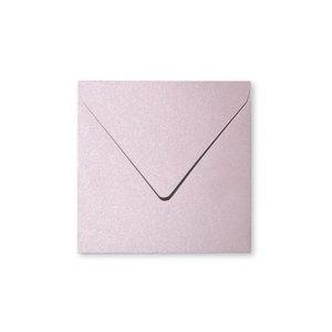 Billigtpyssel.se | Pollen Kuvert 140x140 - 20-pack - Skimrande salong rosa