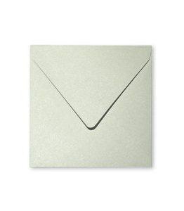 Billigtpyssel.se   Pollen Kuvert 165x165- 20-pack - Skimrande grön