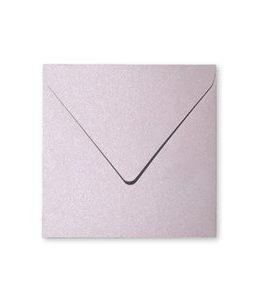 Billigtpyssel.se   Pollen Kuvert 165x165- 20-pack - Skimrande salong rosa