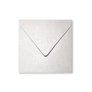 Billigtpyssel.se | Pollen Kuvert 165x165- 20-pack - Skimrande vit