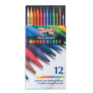 Billigtpyssel.se | Progresso - träfria färgpennor (set om 12 eller 24st)