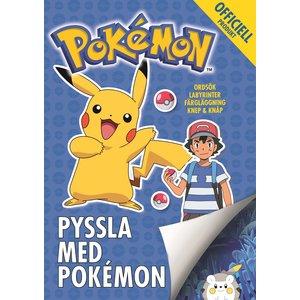 Billigtpyssel.se | Pysselbok Pokémon: Pyssla med Pokémon