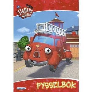 Billigtpyssel.se | Pysselbok Stadens Hjältar