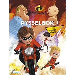 Billigtpyssel.se | Pysselbok Superhjältarna 2