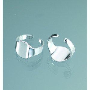 Billigtpyssel.se | Ring blank - försilvrad 1 st.