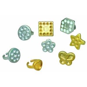 Billigtpyssel.se | Ringar att dekorera - 50 st
