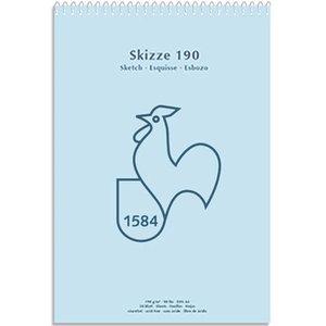 Billigtpyssel.se | Ritblock Hahnemühle 120g Spiralbunden