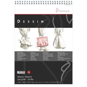 Billigtpyssel.se | Ritblock Hahnemühle Sketch Dessin 150g
