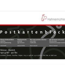 Billigtpyssel.se | Ritblock Hahnemühle Sketch Vykort 190g - 10