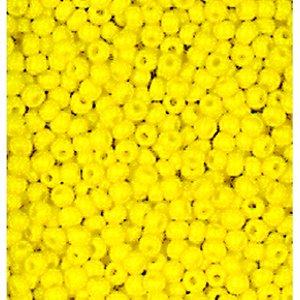 Billigtpyssel.se | Rocaillespärlor ogenomskinliga - gul