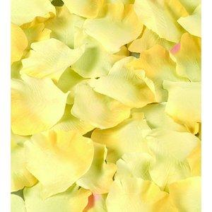 Billigtpyssel.se | Rosblad ø 55 mm - gul 50 st.