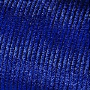 Billigtpyssel.se   Satinsnöre 2 mm - 50 meter - blå