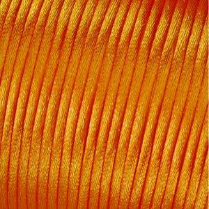 Billigtpyssel.se | Satinsnöre 2 mm - 50 meter - orange