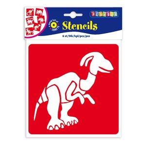 Billigtpyssel.se | Schabloner dinosaurier